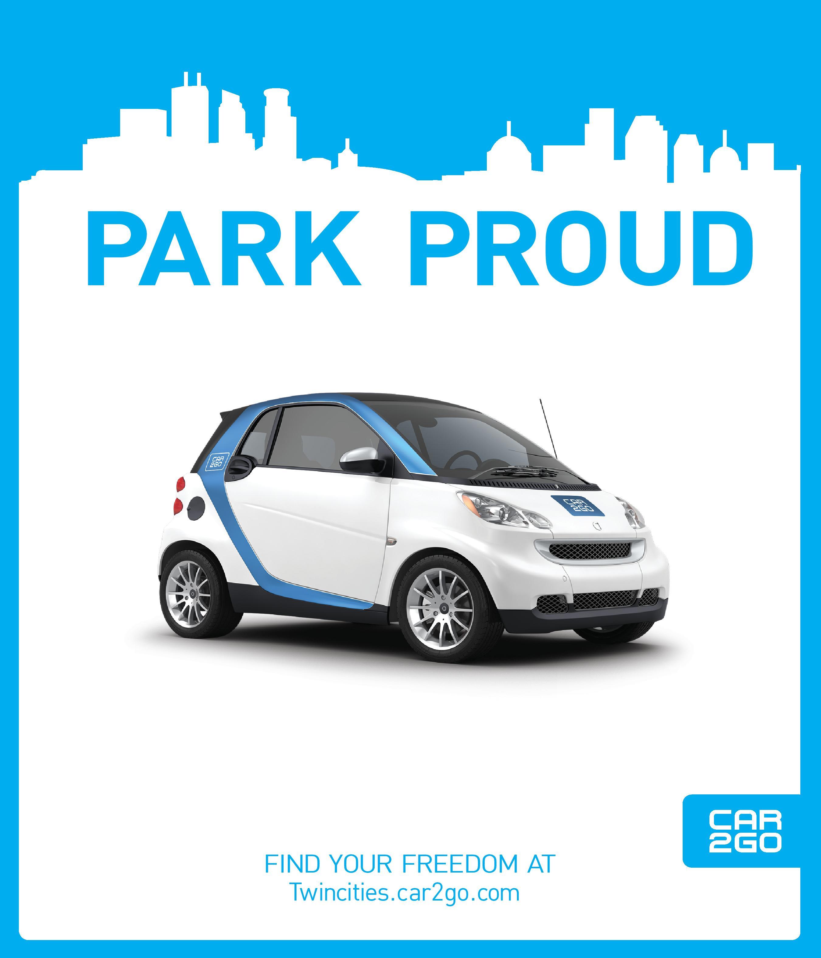 Car2go College Ad Campaign